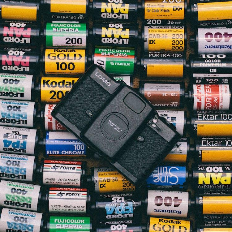 Black Lomo Film Camera