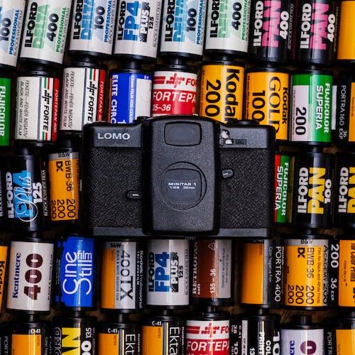 Fotobanka sbezplatnými fotkami na tému analógový, filmy, fotoaparát, lomo