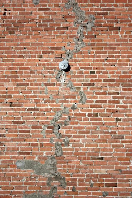 Fotos de stock gratuitas de fondo, grieta, ladrillo, muro