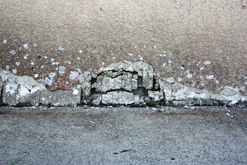 Fotos de stock gratuitas de acera, fondo, grieta, muro