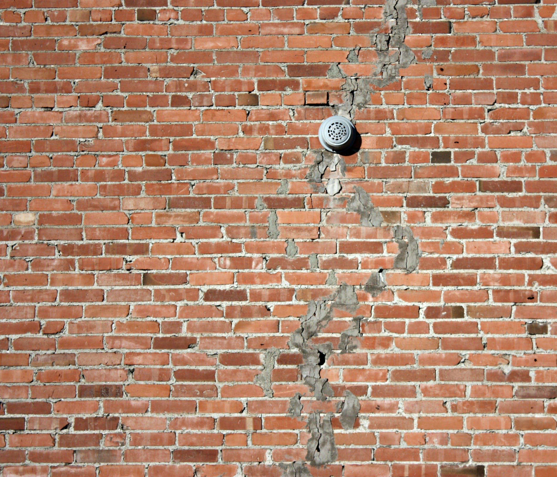 Free stock photo of background, bricks, crack, texture