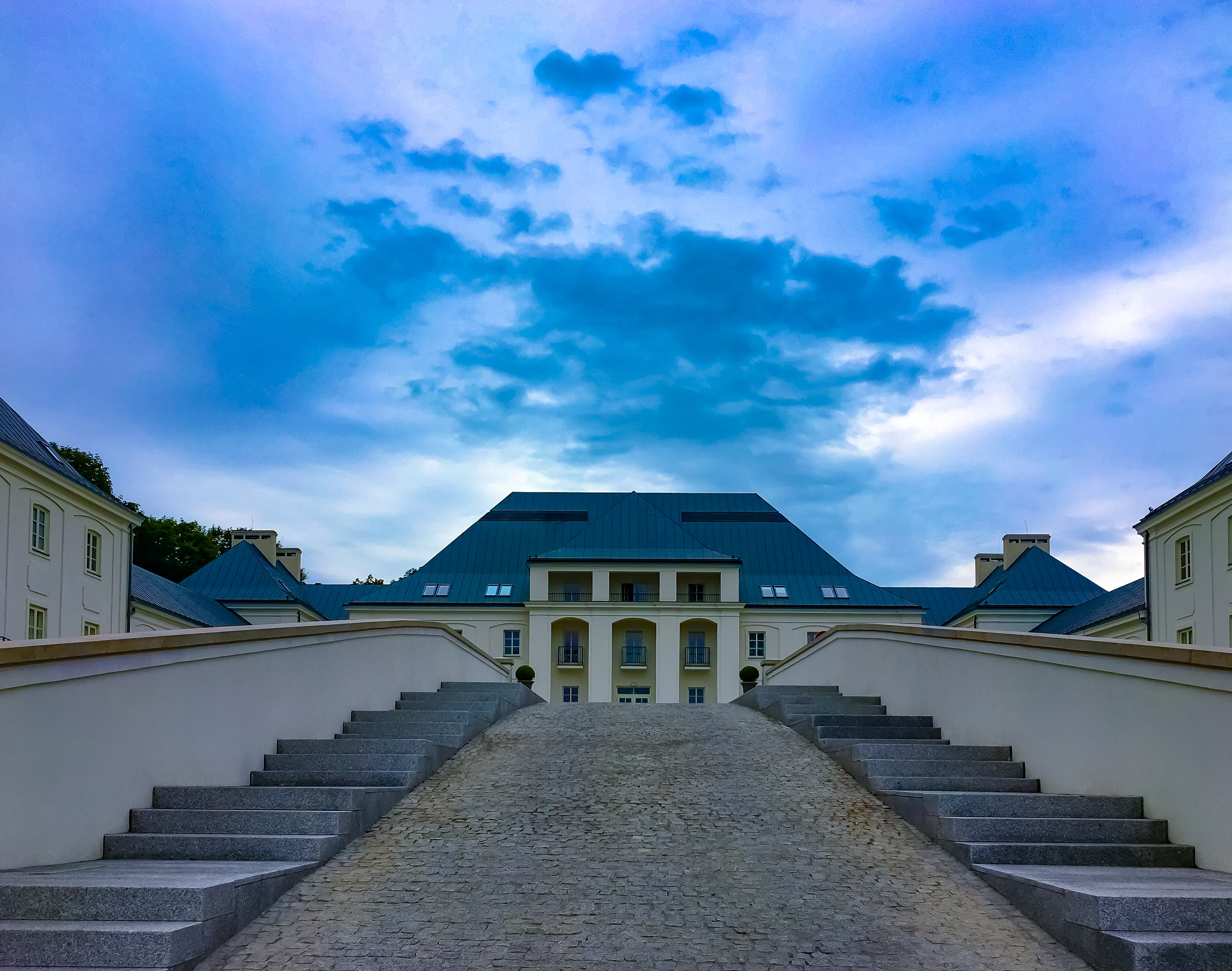 Free stock photo of castle, clouds, hotel, janow