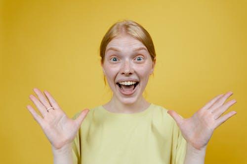 Imagine de stoc gratuită din adult, bucurie, deschide gura