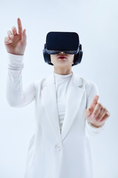 Gratis stockfoto met bril met virtual reality, conceptueel, eigentijds