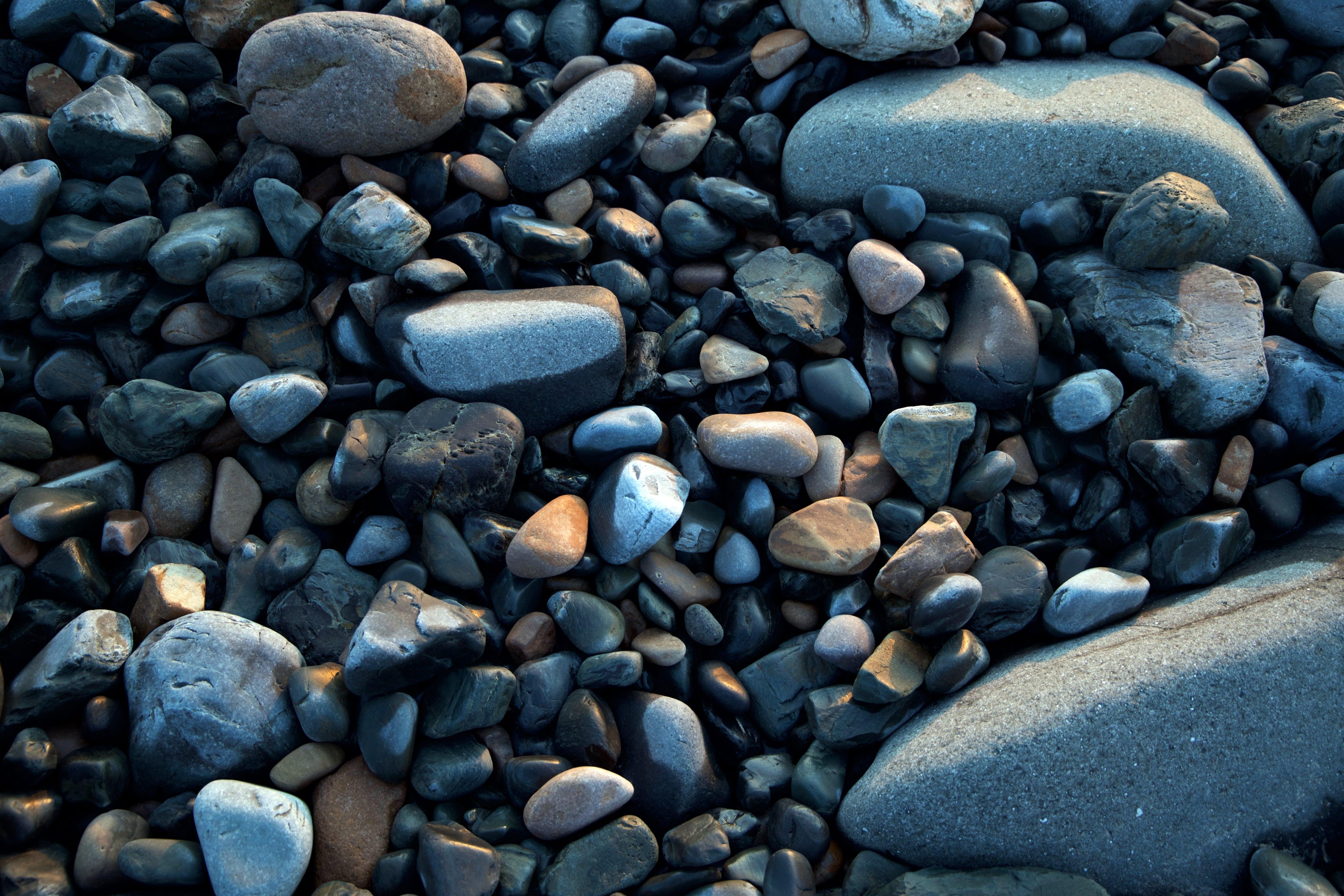 Pile of Gray Stones