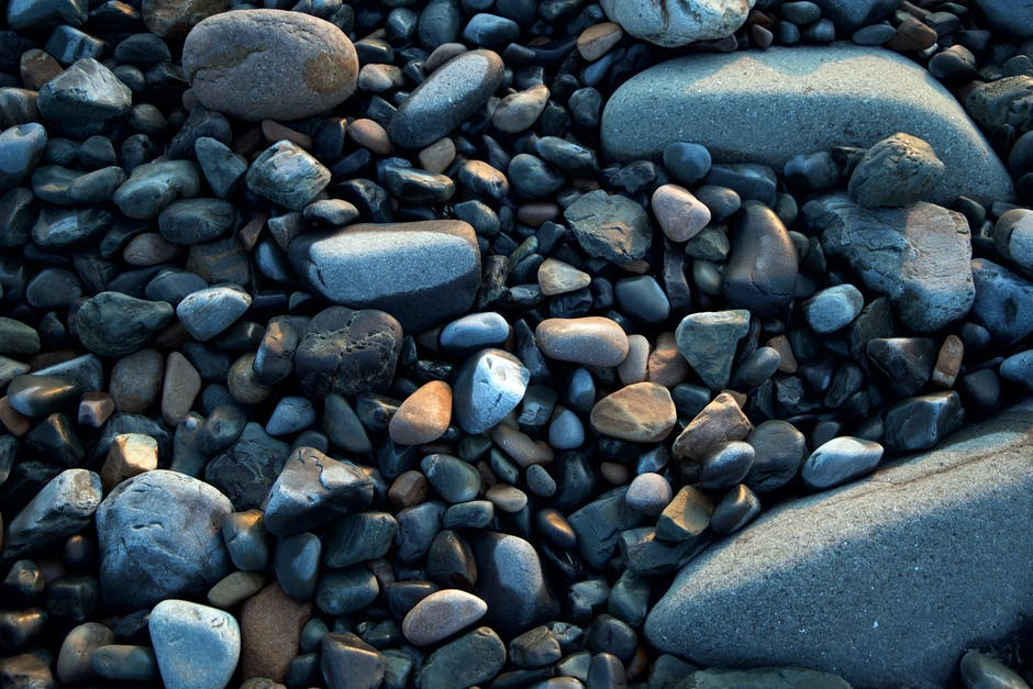 pebbles, rocks, shapes