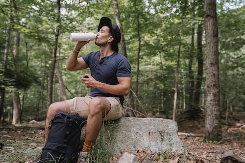 ソロ, のどが渇いて, ハイキングの無料の写真素材
