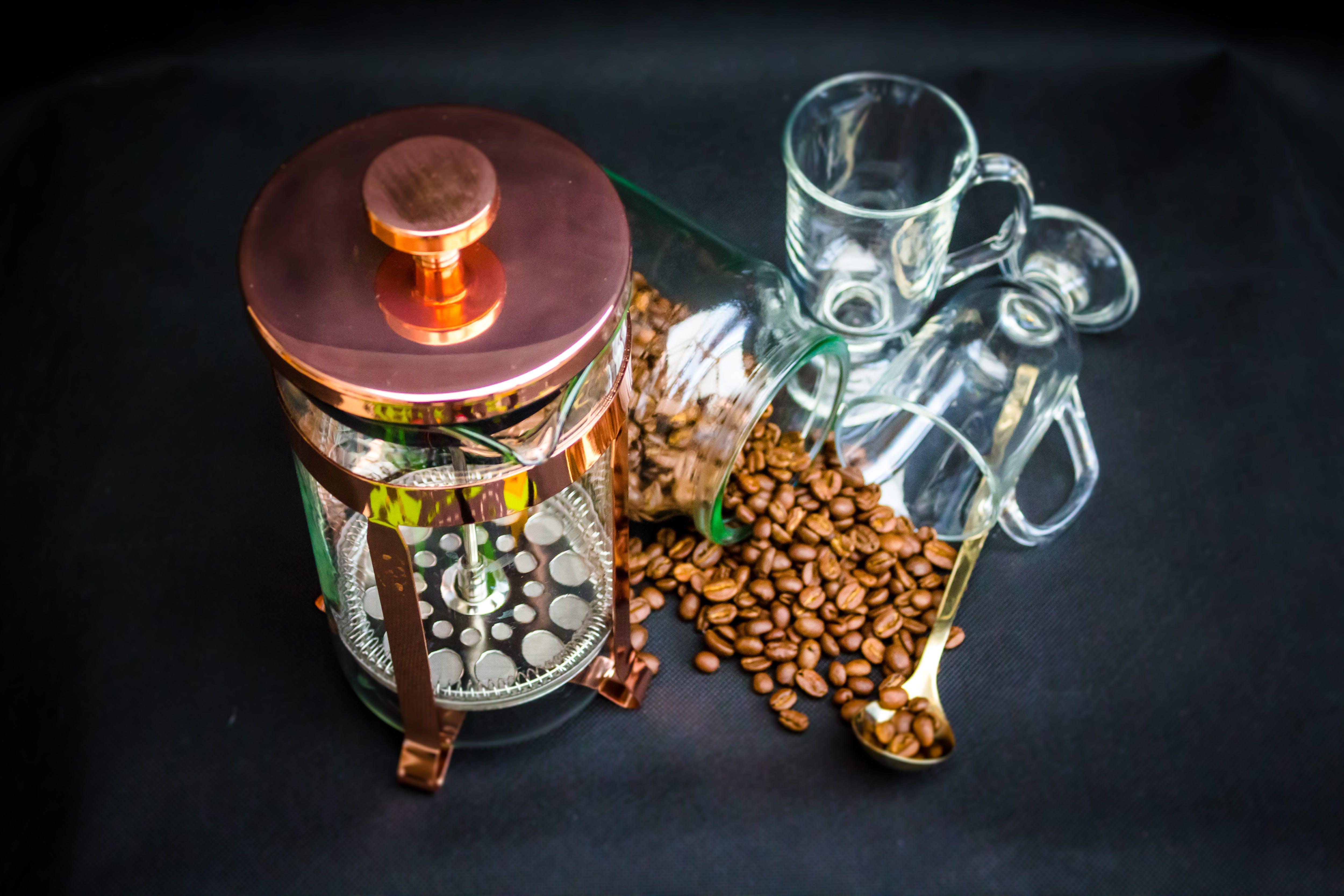 Free stock photo of coffee, coffee drink, coffee beans, brewed coffee