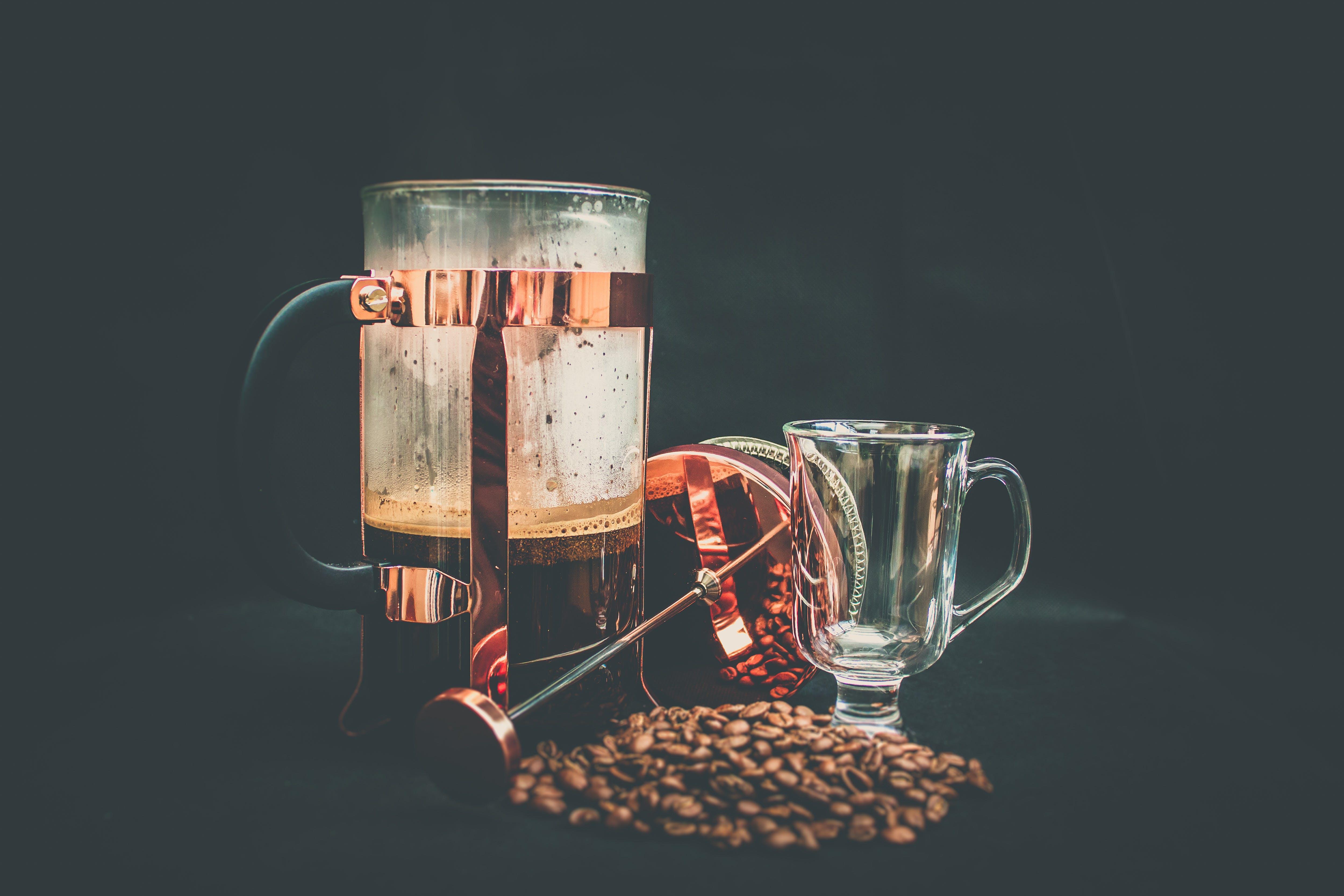 Kostenloses Stock Foto zu gebrühter kaffee, kaffee, kaffee trinken, kaffeebohnen
