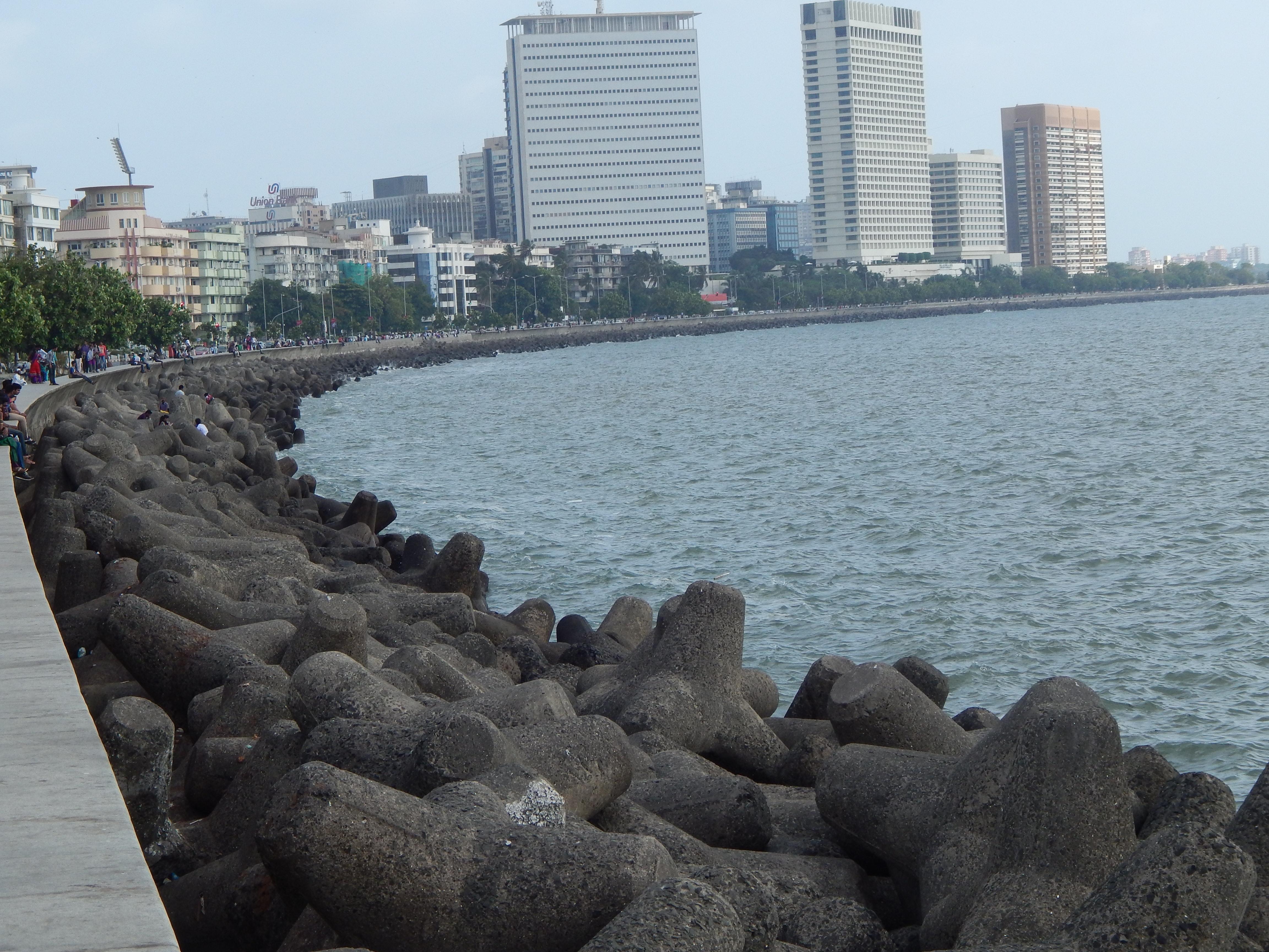 Free stock photo of marine, Marine Drive, mumbai