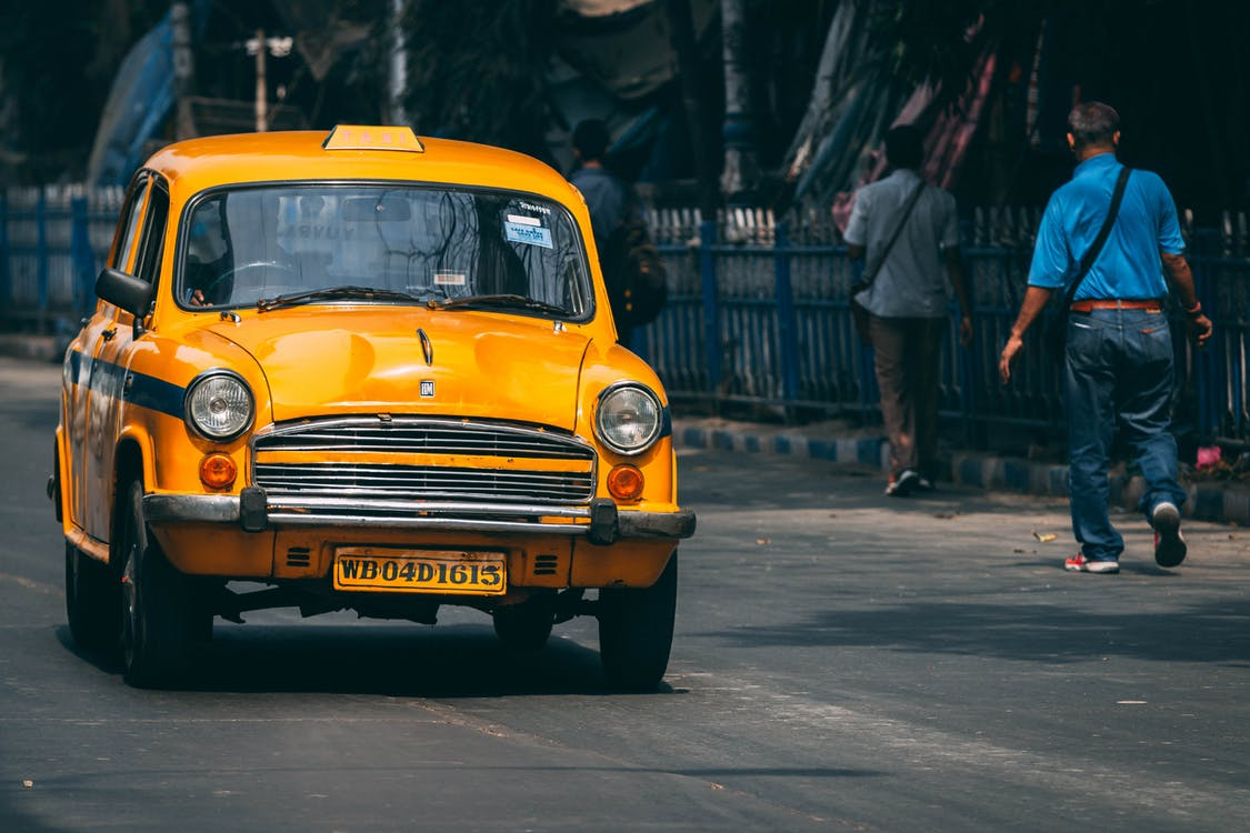Free stock photo of taxi, taxis, yellow car