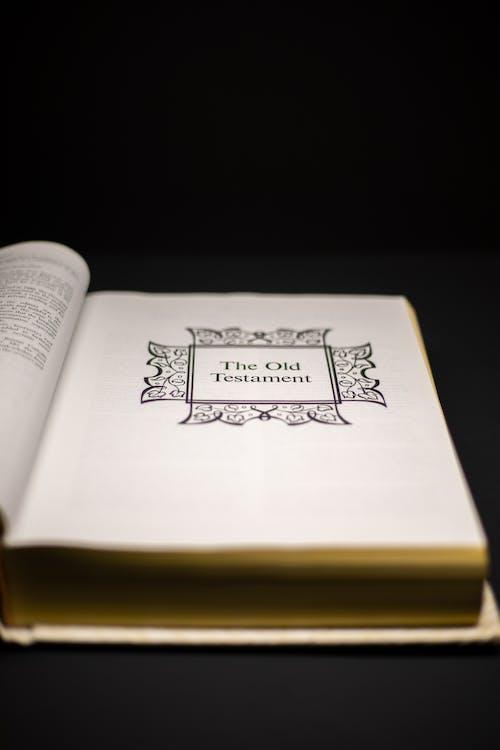 Kostenloses Stock Foto zu altes testament, bibel, buch