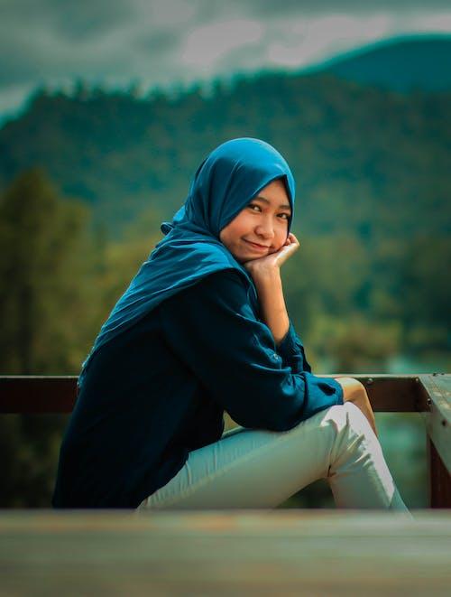 Ilmainen kuvapankkikuva tunnisteilla hijab, ihana, kohde, kontrasti
