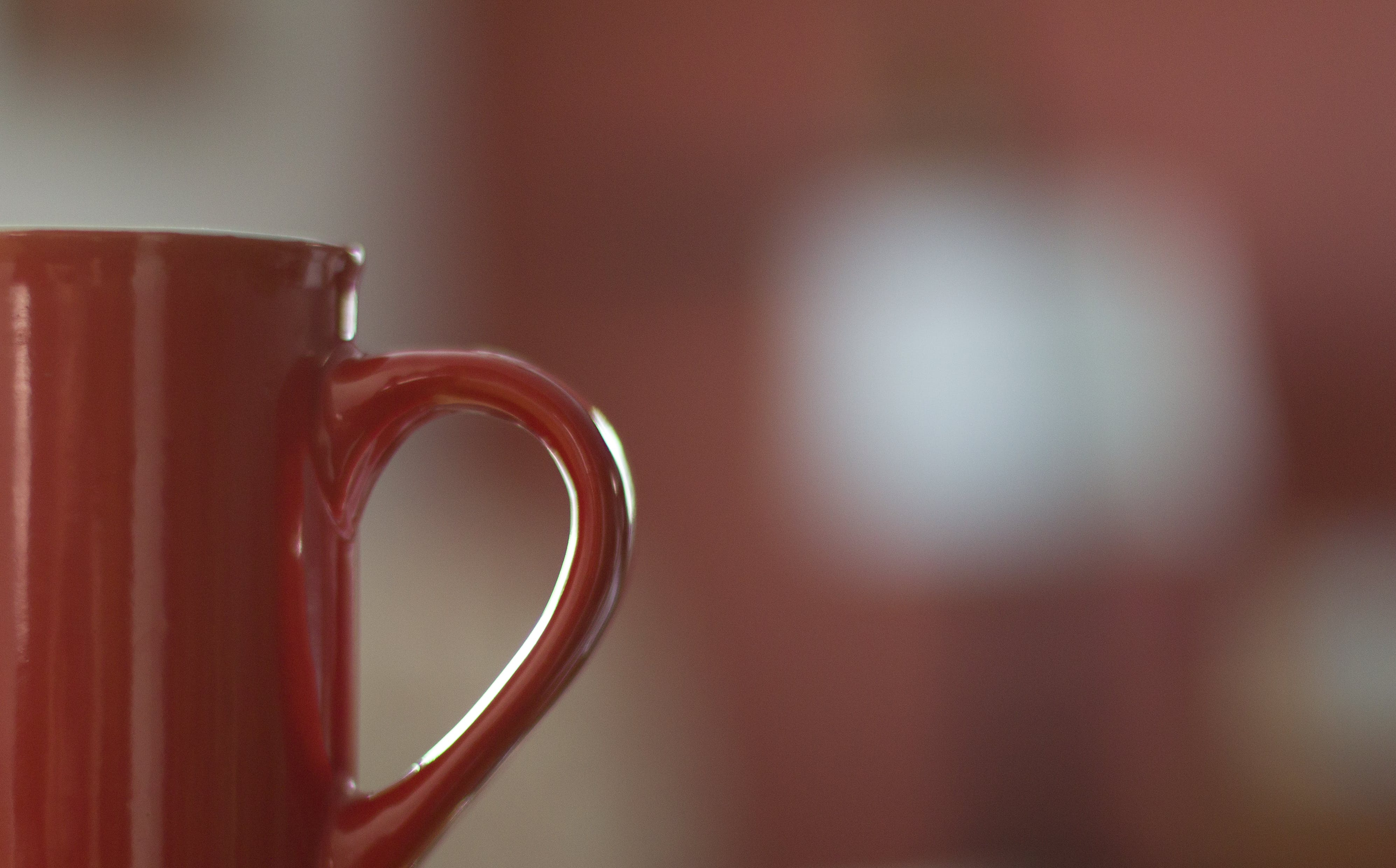 Free stock photo of blurred background, close-up, drink, mug handle