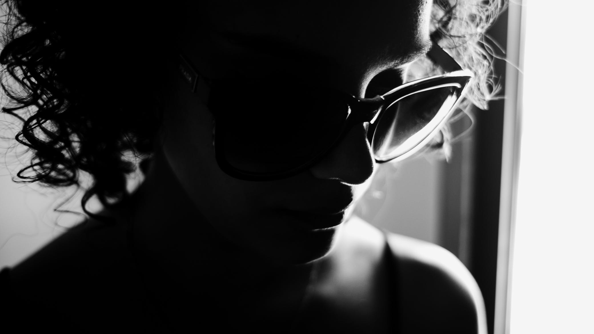 Free stock photo of black and white, light and shadow, brasil, beauty model