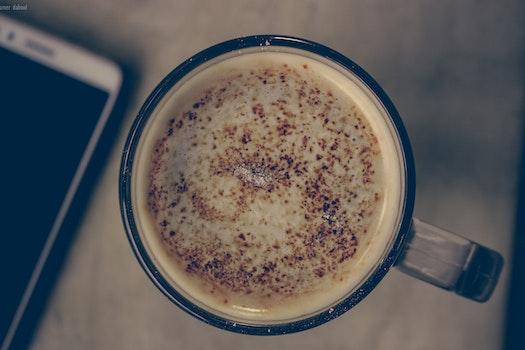 Free stock photo of coffee, cup, mug, cappuccino