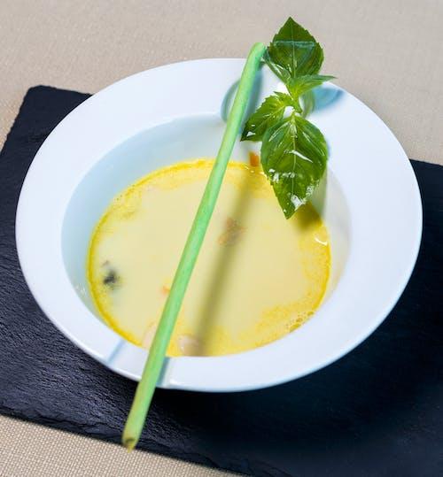Close-Up of Pea Soup