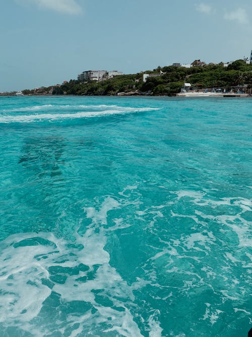 Free stock photo of blue ocean, cancun, clear water