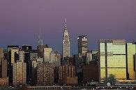 city, sky, skyline