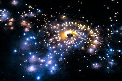Ilmainen kuvapankkikuva tunnisteilla galaxy-värit, ilmainen taustakuva, ilotulitus, kieppuva boke