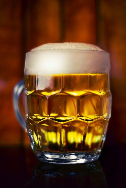 ガラス, ビール, フォーム