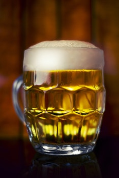 Free stock photo of mug, glass, beer, foam