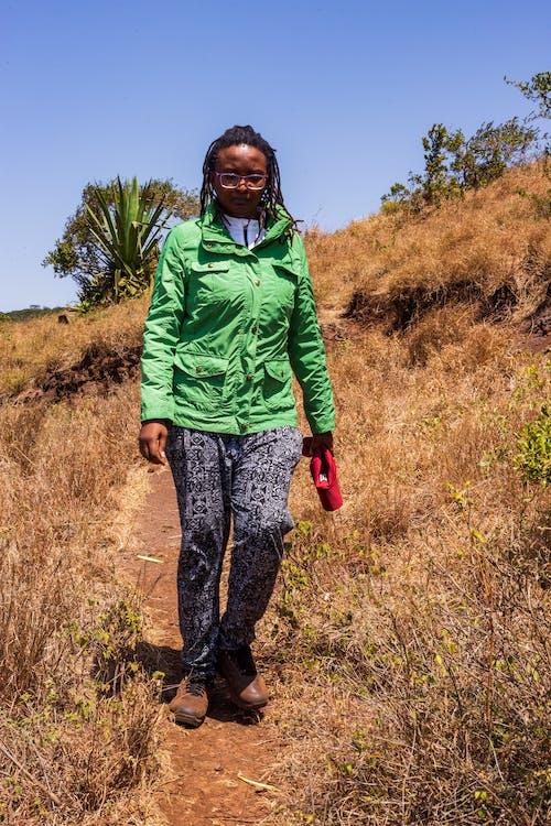 Free stock photo of hiking, hills, trekker