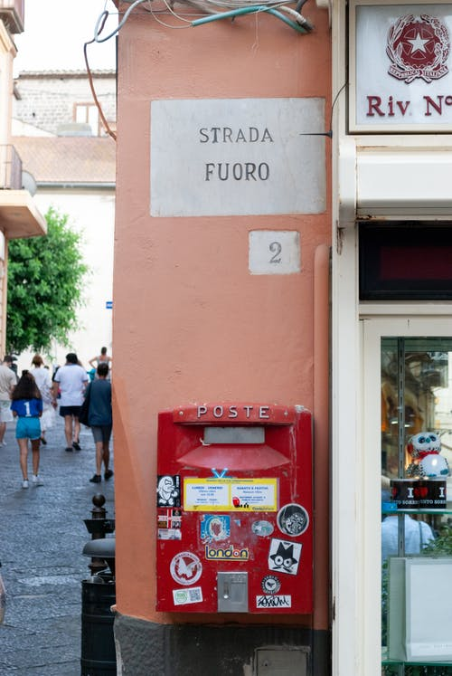 Free stock photo of letter, postbox, red colour
