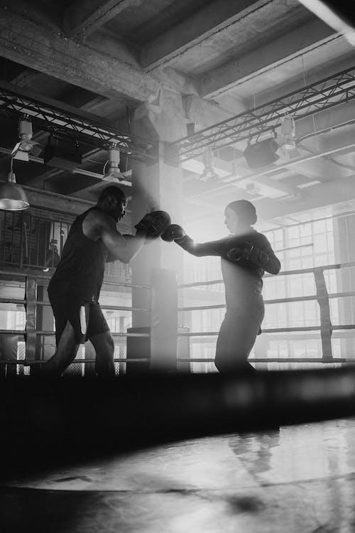 Woman Doing Boxing