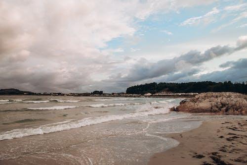 คลังภาพถ่ายฟรี ของ กลางแจ้ง, คลื่น, ชายทะเล