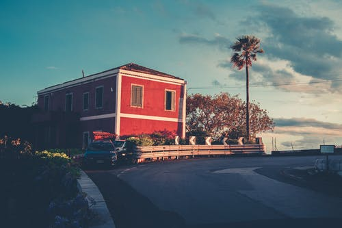 Kostenloses Stock Foto zu abendsonne, blau, hübsch, italien