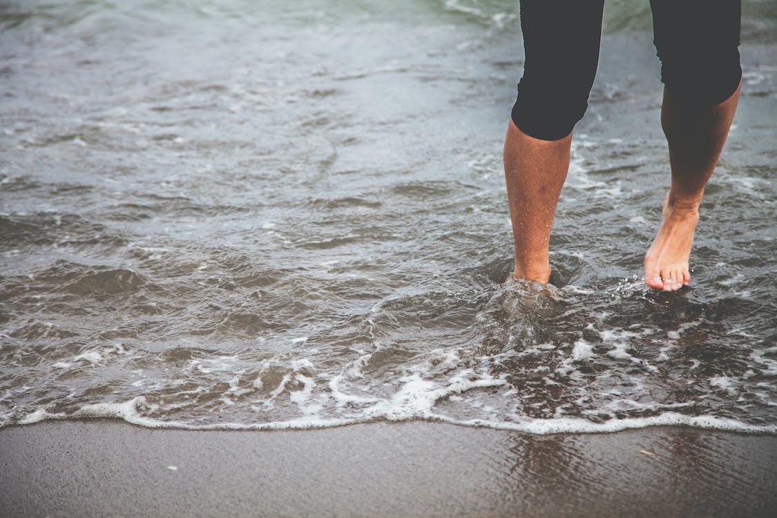 erholung, freizeit, füße