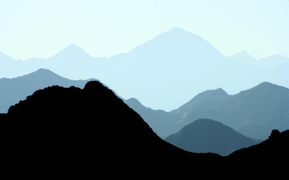 catena montuosa, montagne, natura