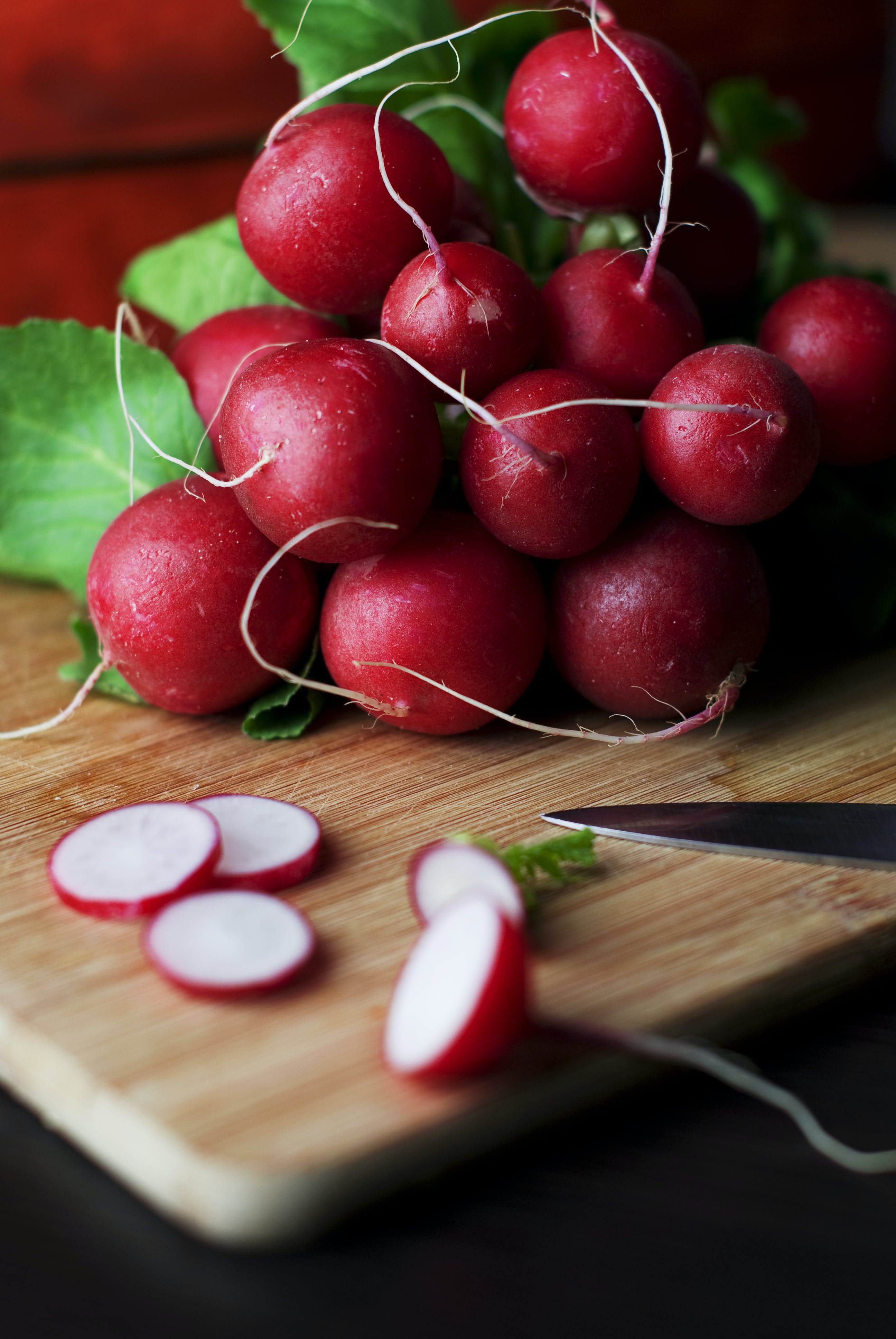 food, radishes, vegatables