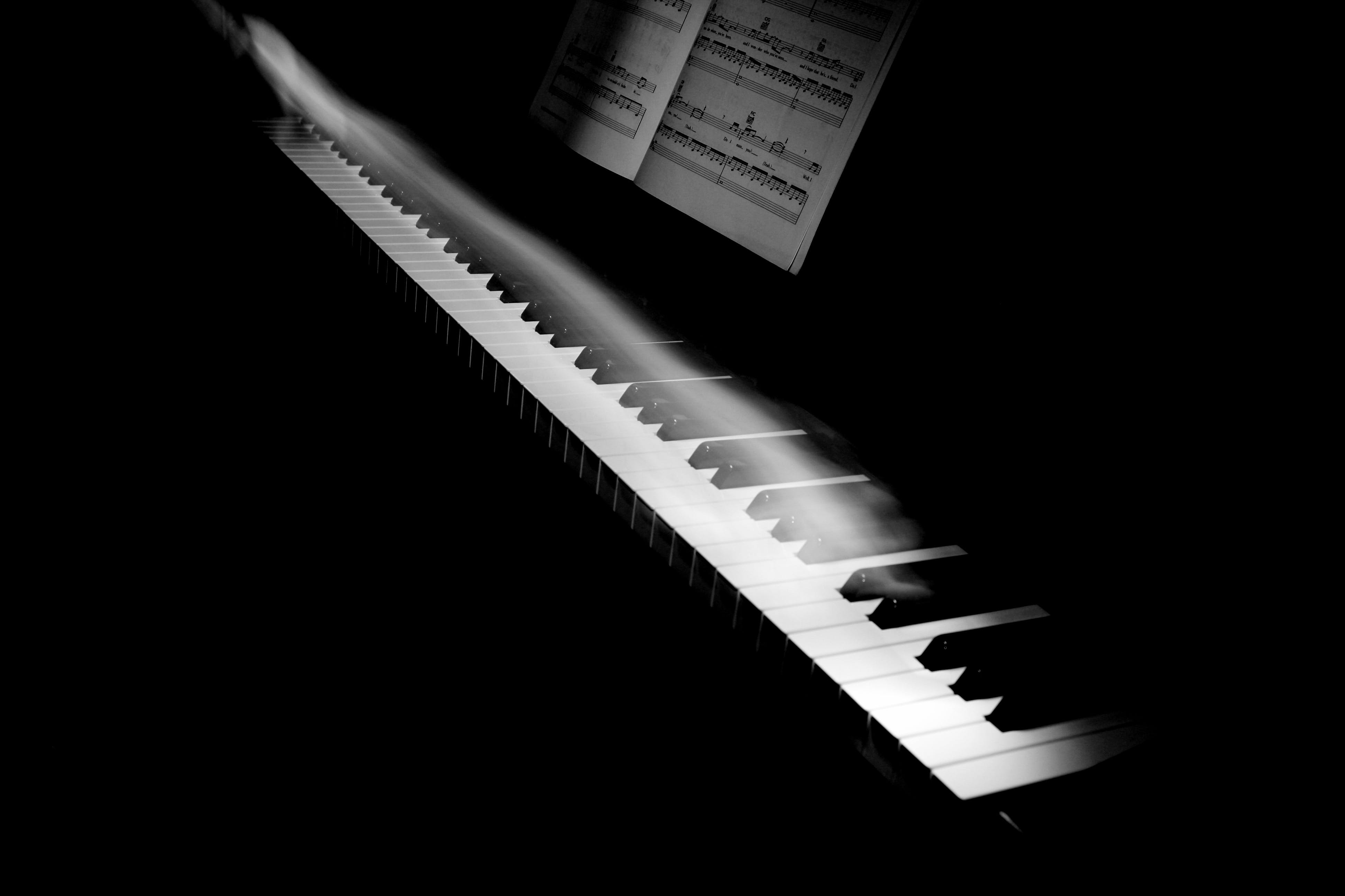 Black Electric Organ