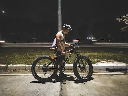 Free stock photo of bike rider, cycling, muscle