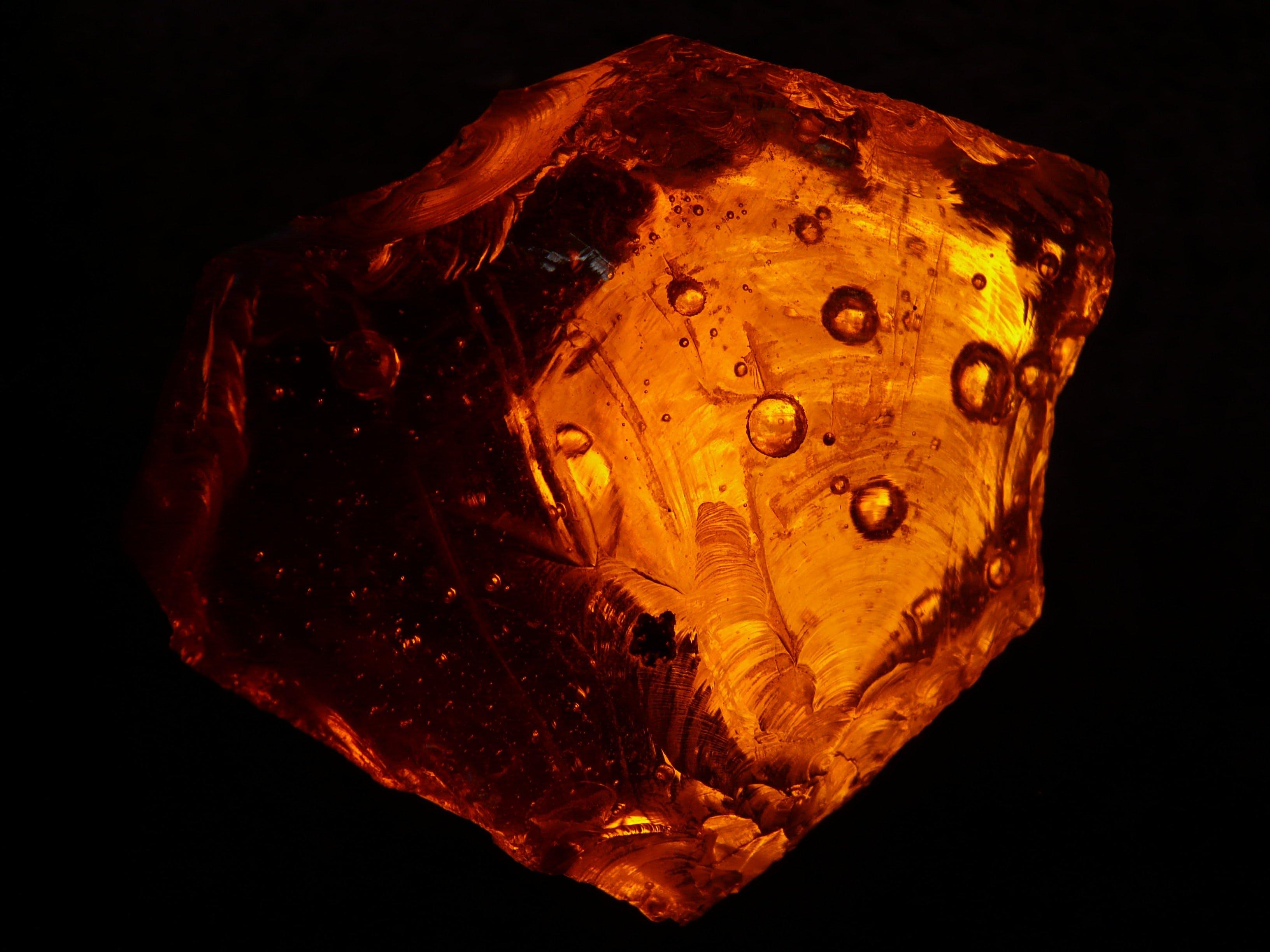 Brown Crystal Fragment