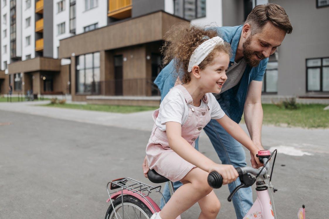 Ingyenes stockfotó apa, apu, bicikli témában