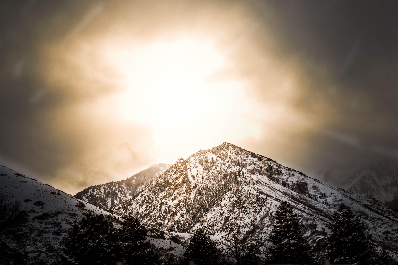 Základová fotografie zdarma na téma hora, krajina, rýma, sníh