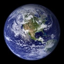 earth, round, world