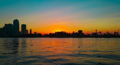 Gratis lagerfoto af Dubai, Forenede Arabiske Emirater, sharjah, solnedgang
