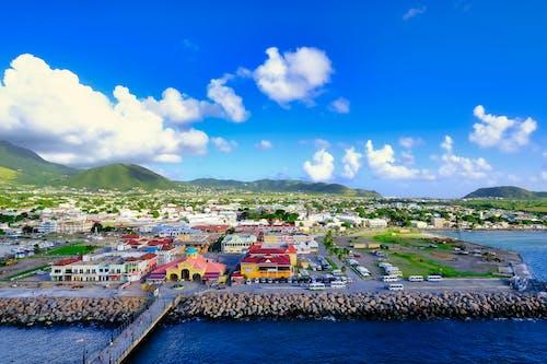 Free stock photo of bassaterre, beautiful background, drone photography