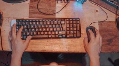 Free stock photo of keyboard