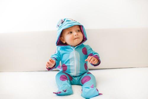 A Cute Baby in Costume