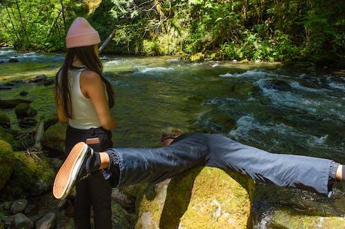 Gratis stockfoto met kameraden, maten, rivier