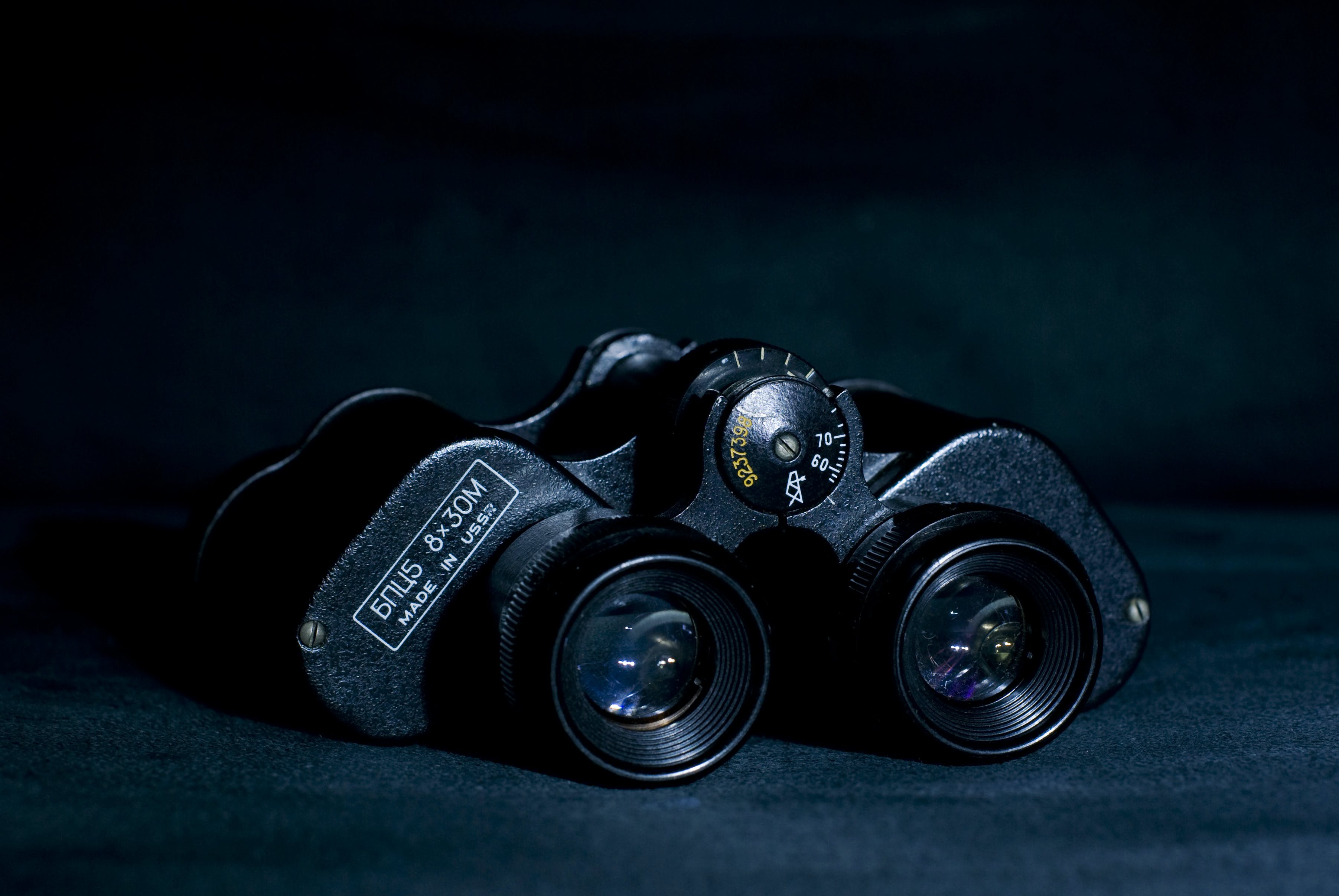 Free stock photo of black, binoculars, object