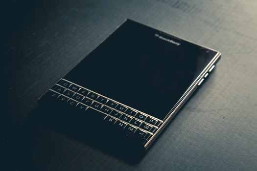 Turned Off Blackberry Qwerty Phone