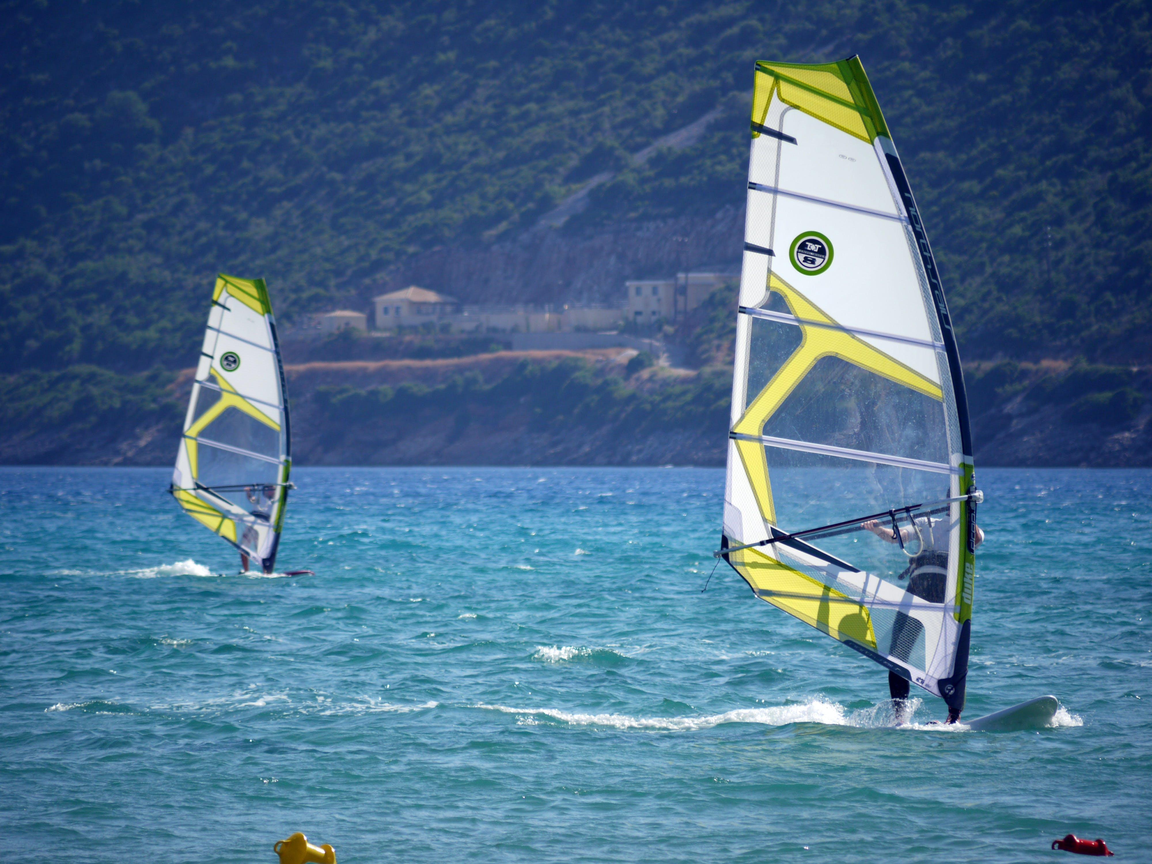 Free stock photo of sea, bay, sailing, windy