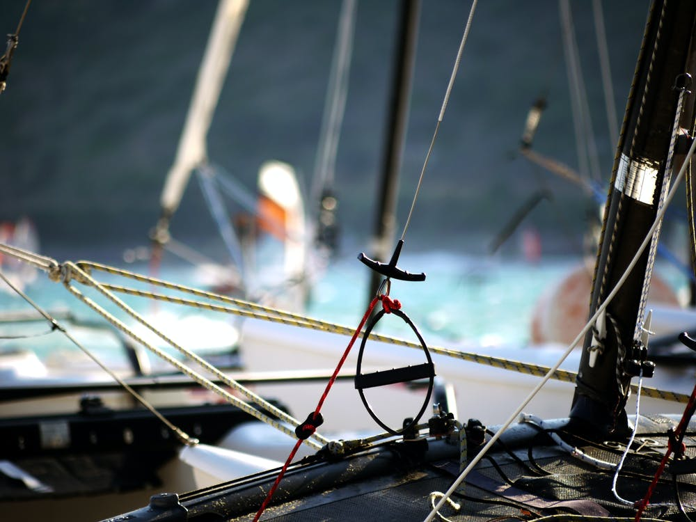 Shallow Focus Photography of Black Boat