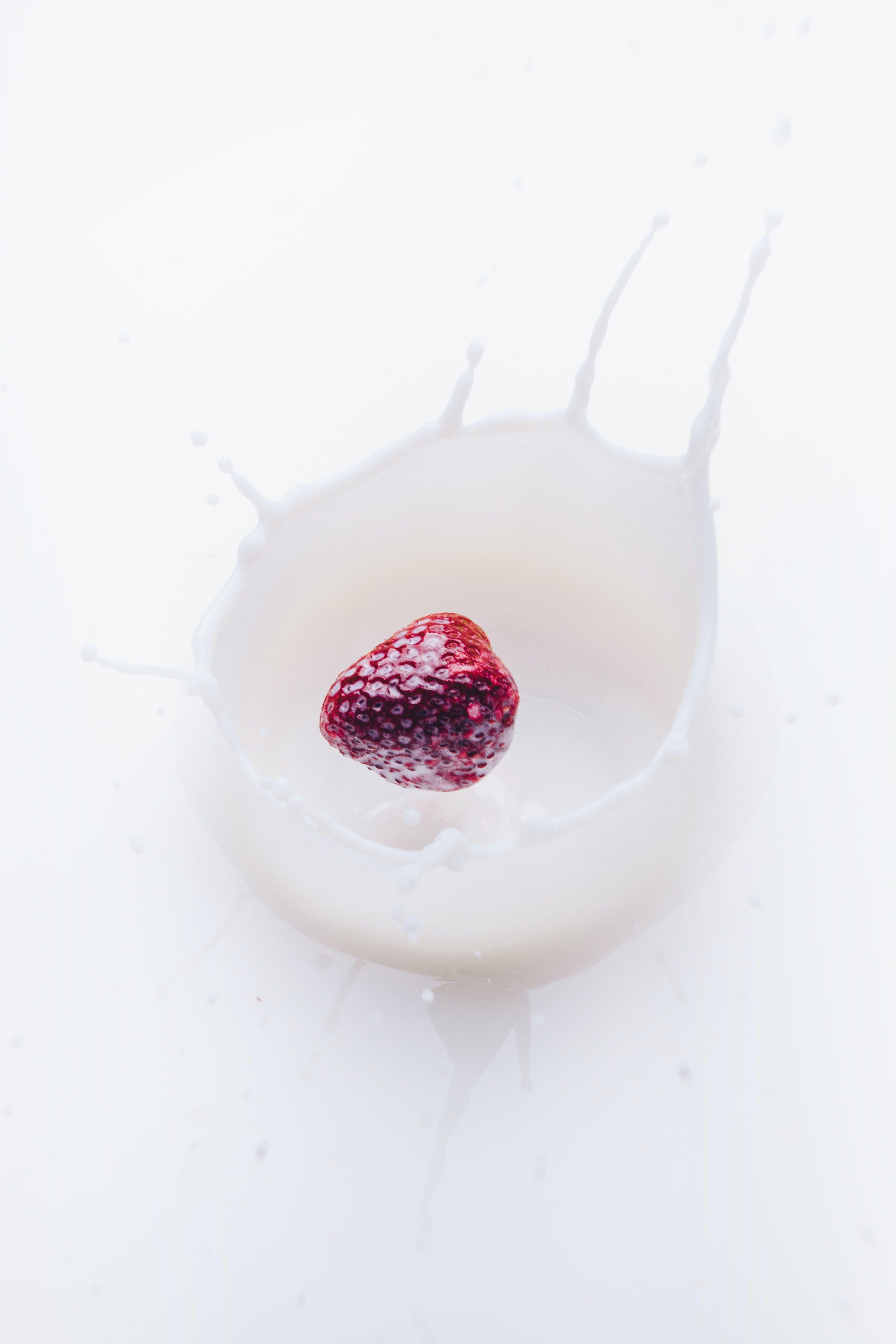 fruit, liquid, milk